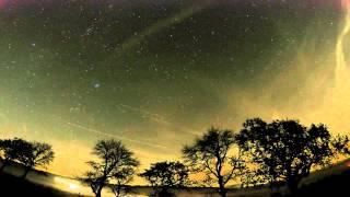 Sternenhimmel im 12 Stunden Zeitraffer