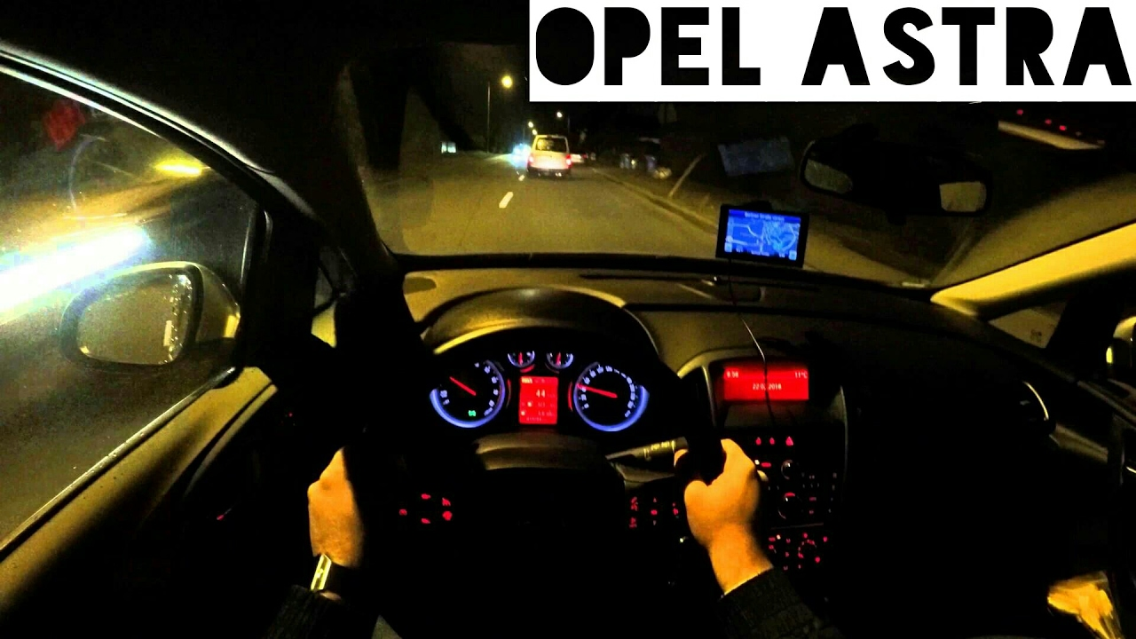 opel astra j 1 4 turbo 140hp at night pov youtube. Black Bedroom Furniture Sets. Home Design Ideas