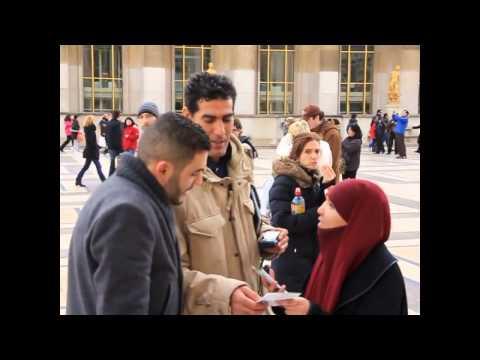 Street Dawah Devant La Tour Eiffel ! Parlez De L'islam Au Trocadero