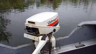 1979 Johnson 9.9hp Outboard Motor Pond Run