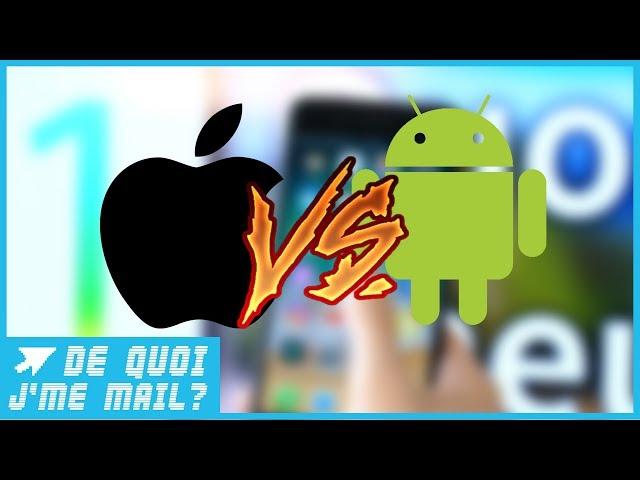 Android ou iOS : quel est le meilleur OS pour smartphone ?  DQJMM (1/2)