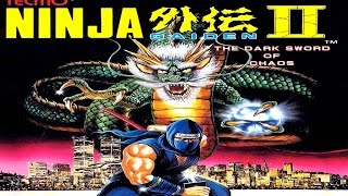 Heavy Metal Gamer: Ninja Gaiden II - The Dark Sword Of Chaos Review