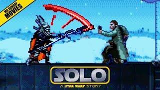 Solo Train Heist - 16 Bit Scenes