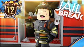 THE FIRE TRUCK HAS COME IN JAILBREAK! -Jailbreak | Danish Roblox