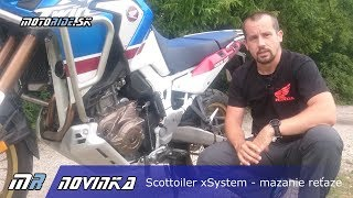Motoride.sk: Scottoiler xSystem - elektronick mazanie reaze - novinka 2018