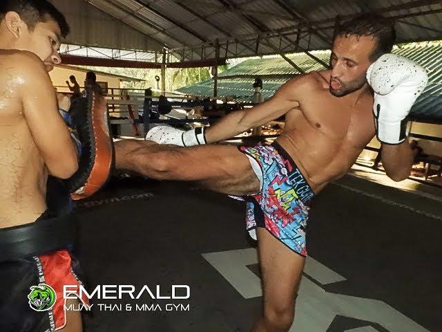 Mohamed Galaoui Training I Emerald Muay Thai Gym