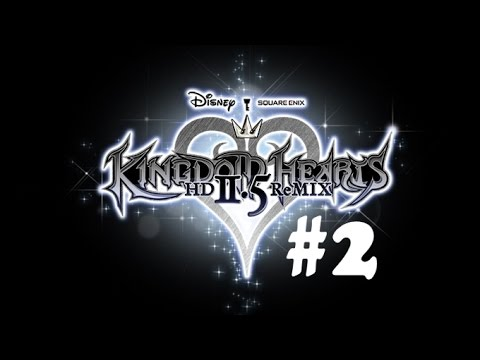 Kingdom Hearts 2.5 HD 100% Walkthrough Part 2: CraZy Jobs