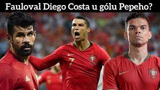 Nasimuloval Ronaldo penaltu? [Portugalsko vs Španělsko 3:3]