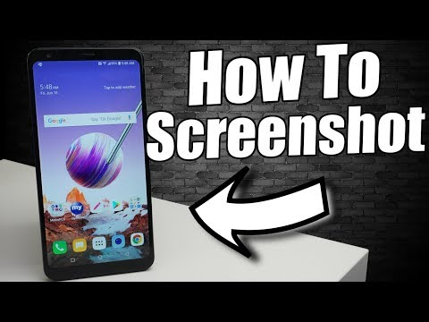 LG Stylo 4 How To Screenshot (3 Ways)