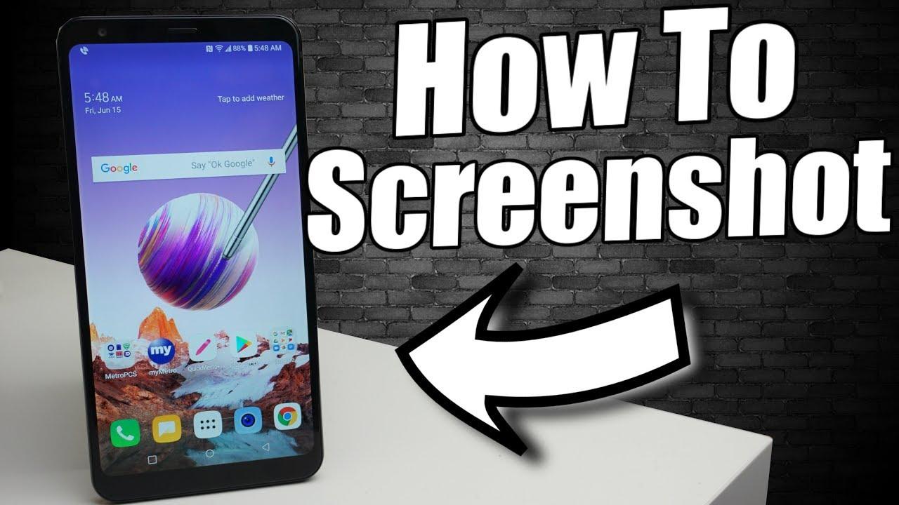 LG Stylo 5 How To Screenshot (5 Ways)