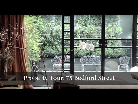 Property Tour: Glamorous Old World Townhouse at 75 Bedford St