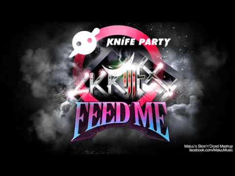 Skrillex vs Knife party vs Feed me