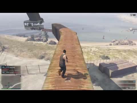 "Grand Theft Auto V ""HARD PARKOUR 4"" Deathmatch"