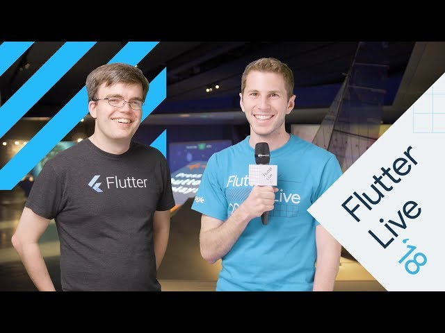 Interview With Eric Seidel (Flutter Live)