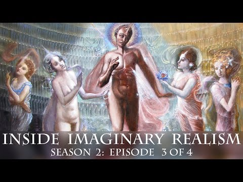 Visionary art TV presents: Inside Imaginary realism: featuring 9 Visionary artists. S 2: Ep 3