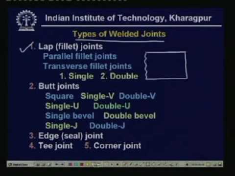 Lecture - 23 Design of Welded Joints-I
