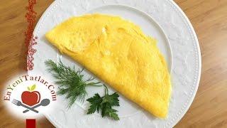 Kaşarlı Omlet Tarifi | Omlet Nasıl Yapılır