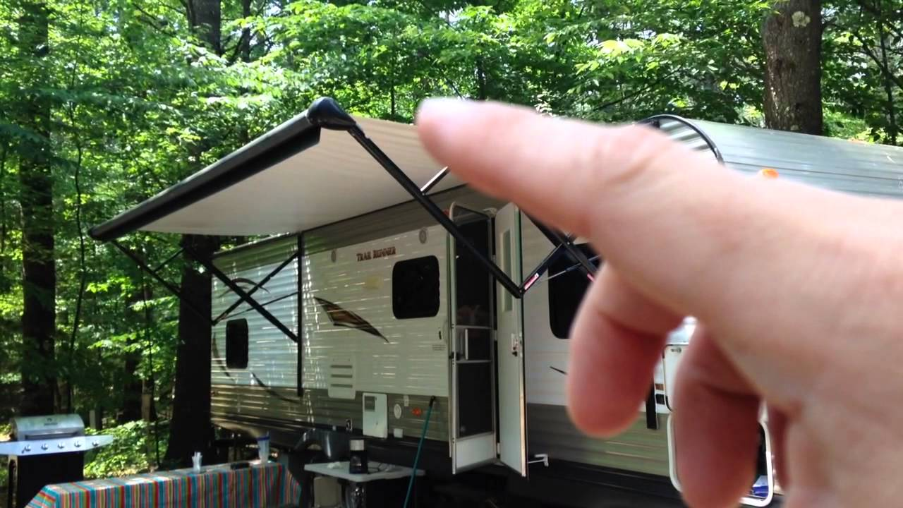 How An Rv Electric Awning Works Demonstration Youtube