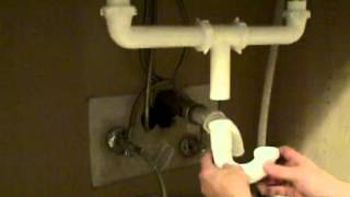 Kitchen Sink Plumbing - How To Replace A Kitchen Sink Trap