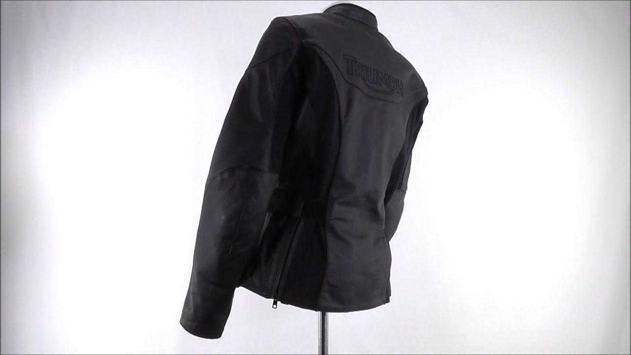 Leather jacket victoria - Ladies Triumph Victoria Leather Jacket