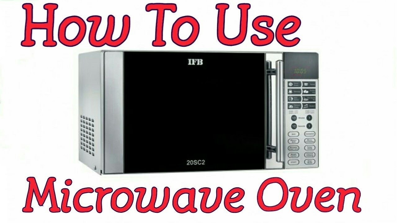 Microwave Demo Ifb 20sc2 Electro Mall Youtube