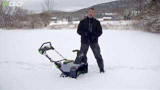 EGO Power Plus snow blower vs Toro w Skip Bedell