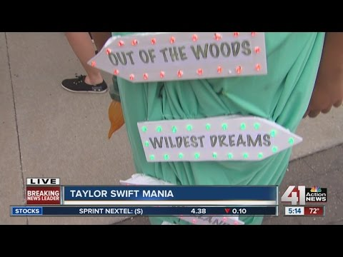 Taylor Swift in Kansas City for concerts