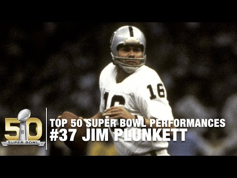 #37: Jim Plunkett Super Bowl XV Highlights | Top 50 Super Bowl Performances
