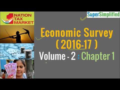 Economic Survey 2017 - Volume 2 - Chapter 1