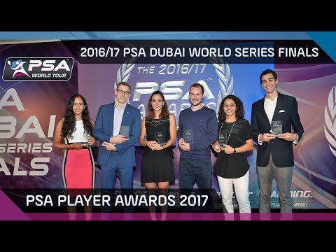 Squash: PSA Player Awards 2016/17