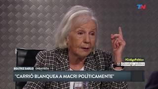 Beatriz Sarlo En Código Político