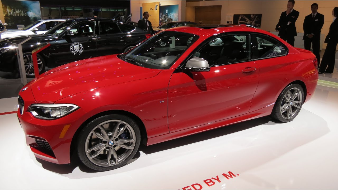 2015 bmw m 235i at the 2014 naias auto show youtube. Black Bedroom Furniture Sets. Home Design Ideas
