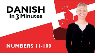 Learn Danish - Numbers 11-100