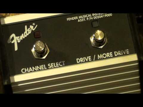 Fender Amplifier Channel Selection Pedals