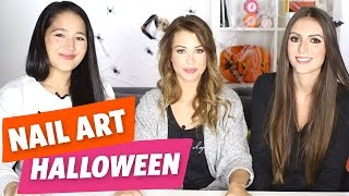 ✿ [Halloween] Challenge du Tuto Nail Art Halloween avec Yoko, Marie et Marine ✿