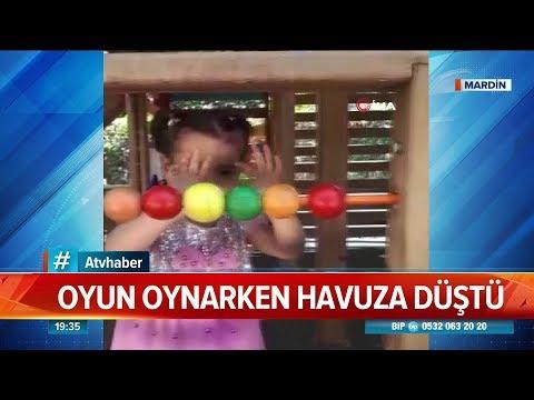 Oyun Oynarken Havuza Düştü! - Atv Haber 23 Ağustos 2019