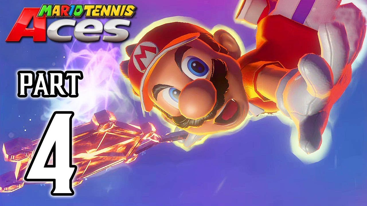 MARIO TENNIS ACES Walkthrough PART 4 (Adventure Mode) @ No Commentary 1080p (60ᶠᵖˢ) HD ✔