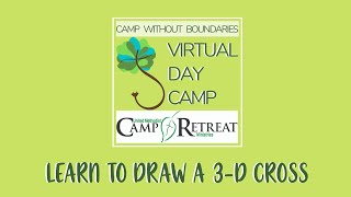 Learn to Draw a 3-D Cross