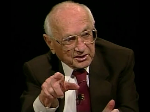 Milton Friedman 2005 Interview 1/4