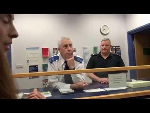 Barton Moss SHUT DOWN ! SWINTON POLICE STATION Truthferretfilms