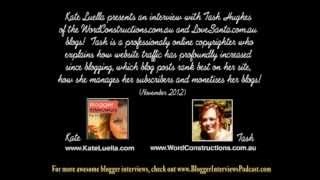 tash hughes blogger interview by kate luella about business blogs and blogging