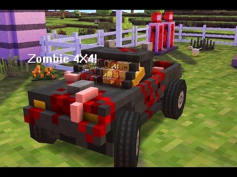 Blocky Roads Cool Custom Car Zombie X YouTube - Cool custom cars