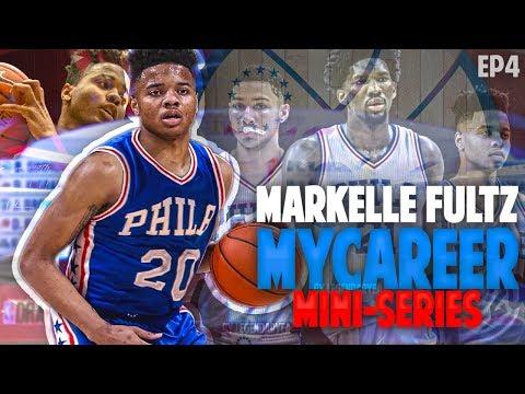 PHILLYS YOUNG BIG 3 (F.E.D.S) DOMINATES! NBA 2K17 MARKELLE FULTZ MYCAREER #4
