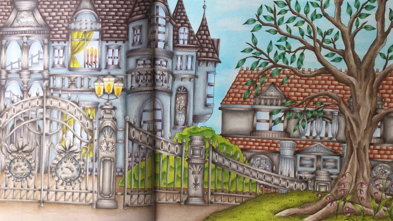 ROMANTIC COUNTRY By Eriy The Second Tale Prismacolor