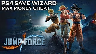[PS4] Jump Force - Max Money Cheat - PS4 Save Wizard