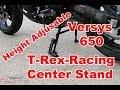 T-Rex Racing Kawasaki Versys 650 2008 - 2018 Center Stand Installation (Update)