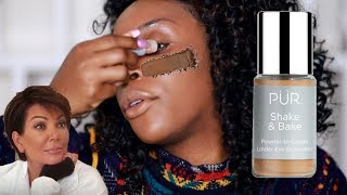 A POWDER CONCEALER?! Why Doh!??? | Jackie Aina