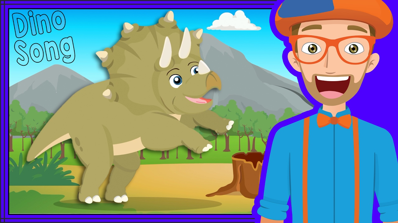 Dinosaur Song and more by Blippi | Videos for Toddlers