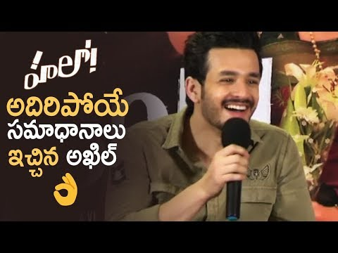 Hello Movie Team Interacting With Media | Akhil Akkineni | Kalyani | Anup Rubens | TFPC