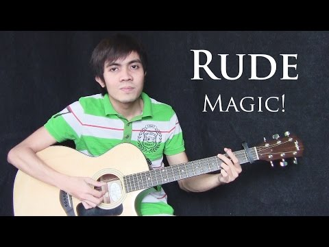 Rude - Magic! (fingerstyle guitar cover + free tab)